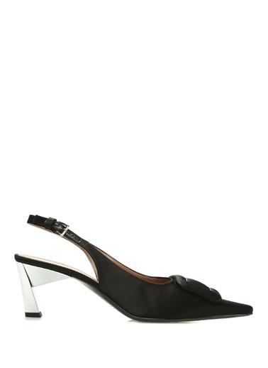 Marni Kısa Topuklu Ayakkabı Siyah